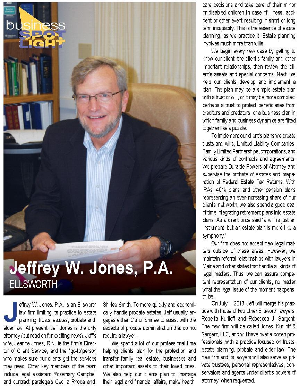 Jeffs Bangor Metro article 201306